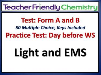 Chemistry Test and Practice Test: Light and EMS