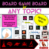 Chemistry Theme Game Board for ANY TOPIC!