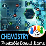 Chemistry Themed Board Game - Editable Cards