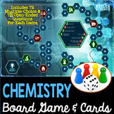 Chemistry Themed Board Game - Pre-Written and Editable Cards
