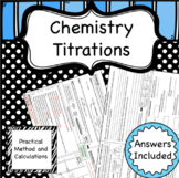 Titration Worksheet