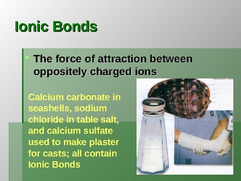 Chemistry: Types of Bonding