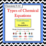 Chemistry Types of Reactions Guided Inquiry Lesson