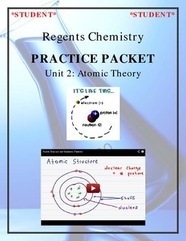 NGSS Regents Chemistry - Unit 2: Atomic Theory (Complete Unit)