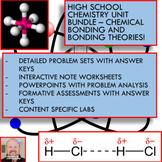 Chemistry Unit Bundle - Chemical Bonding for High School Chemistry!