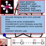 Chemistry Unit Bundle - Chemical Bonding for High School C