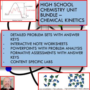 Chemistry Unit Bundle - Chemical Kinetics for High School Chemistry!