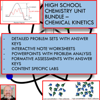 Chemistry Unit Bundle - Chemical Kinetics for High School Chemistry!