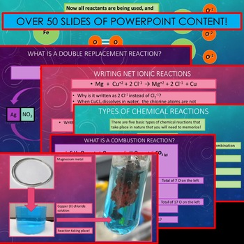 Chemistry Unit Bundle - Chemical Reactions for High School Chemistry!