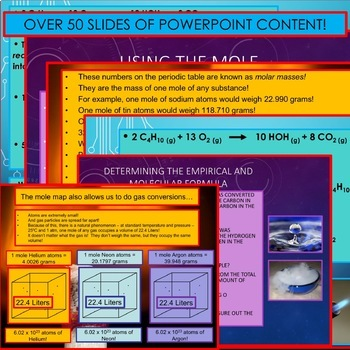 Chemistry Unit Bundle - Stoichiometry for College Prep Chemistry!