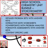 Chemistry Unit Bundle - Stoichiometry for High School Chemistry!