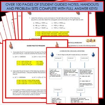 Chemistry Unit Bundle - Equilibrium for High School Chemistry!