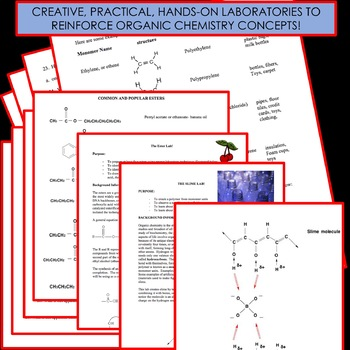 Chemistry Unit Bundle - Organic Chemistry for High School Chemistry!