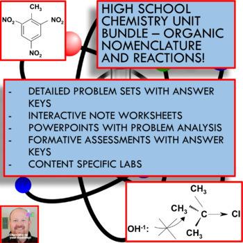 Chemistry Unit Bundle - Organic Chemistry for High School Chemistry!