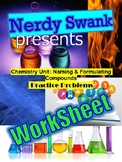 Chemistry Unit: Naming & Formulating Compounds 90 Practice