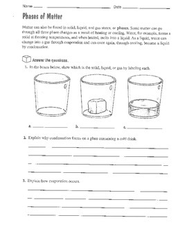 Chemistry Unit Packet/Work