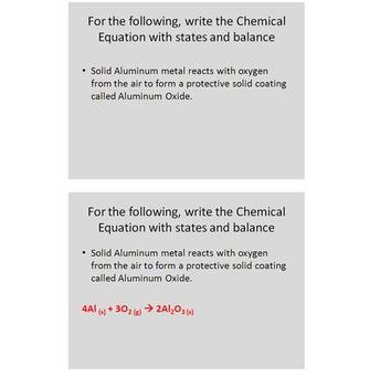 Chemistry Unit Review Questions - Atoms, Naming and Reactions