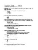 Chemistry Unit Test 8th grade