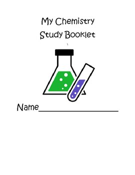 Chemistry Vocabulary Project Booklet