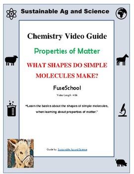 (Chemistry) WHAT SHAPES DO SIMPLE MOLECULES MAKE - FuseSchool