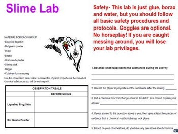 Chemistry Week 6 Lesson