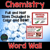 Chemistry Word Wall
