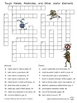 Chemistry Worksheets -- elements puzzles