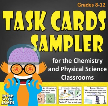 Chemistry and Physical Science Task Cards Sampler