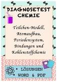 Chemistry diagnostic, german, Chemie, Test, Wiederholung,
