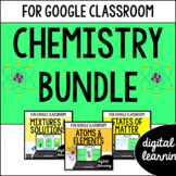Chemistry for Google Classroom DIGITAL BUNDLE