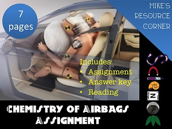 Chemistry of Airbags Assignment