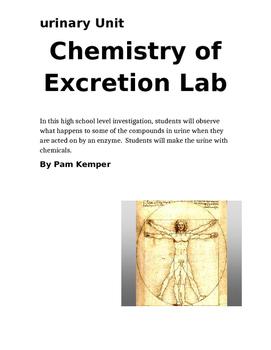 Chemistry of Excretion Lab