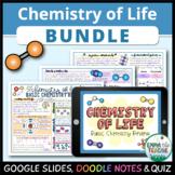 Chemistry of Life - Basic Chemistry Review Bundle