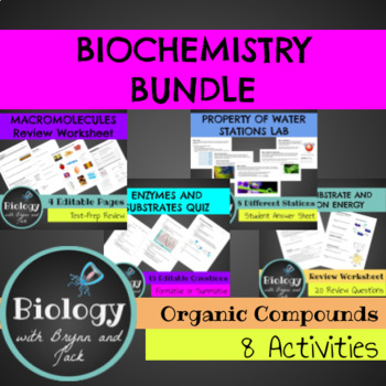 Chemistry of Life Bundle