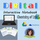 Chemistry of Life Digital Interactive Notebook