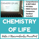 Chemistry of Life PowerPoint