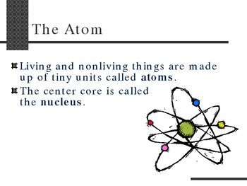Chemistry of Living Things Biochemistry PowerPoint Presentation Lesson