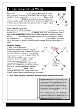 Chemistry of Sea Water (Marine Chemistry and Global Warming)