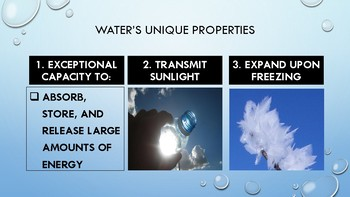 Chemistry of Water PowerPoint