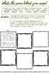 Chemistry of cooking:  Family Recipe Worksheet