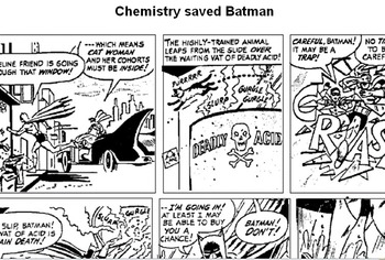 Chemistry saved Batman