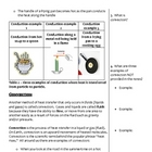 Chemistry/Physical Science Notes - Heat Transfer (5 - 8)