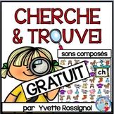 Atelier de lecture Cherche et Trouve pour sons composés GRATUIT