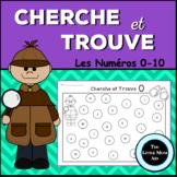 Cherche et Trouve Les Numéros 0-10 | French I Spy Numbers 0-10