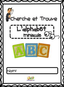Cherche et Trouve - Les lettres minuscules