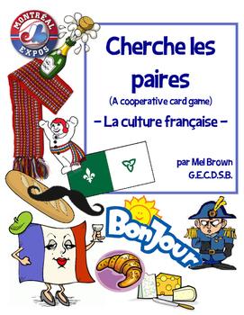 Cherche les paires - La culture française