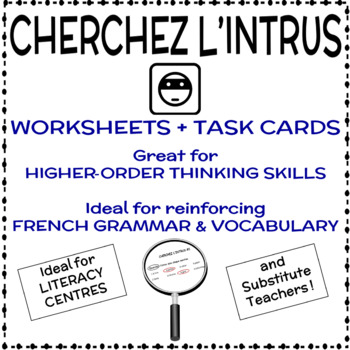 Cherchez l'intrus - French Vocabulary Activity