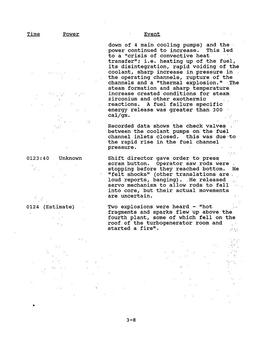 Chernobyl Nuclear Power Plant Accident CIA, Energy Dept, DOD, & other Documents