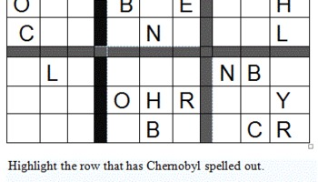 Chernobyl Sudoku