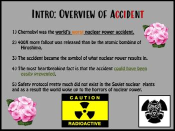 Chernobyl: What Happened And The Consequences (Powerpoint)